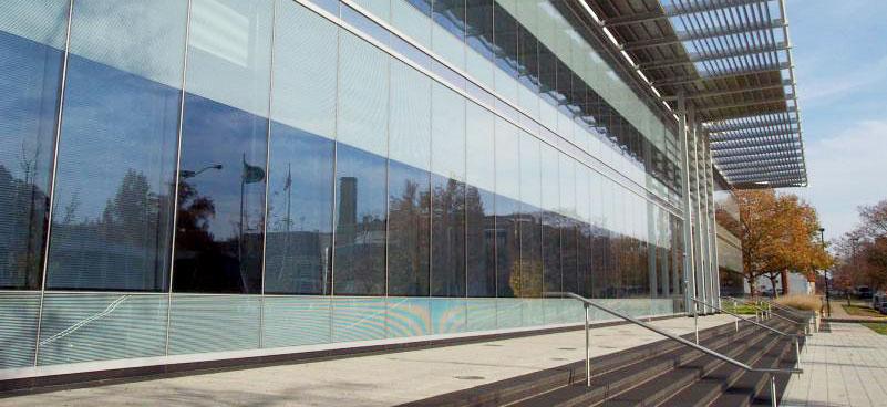 central bank curtain walls